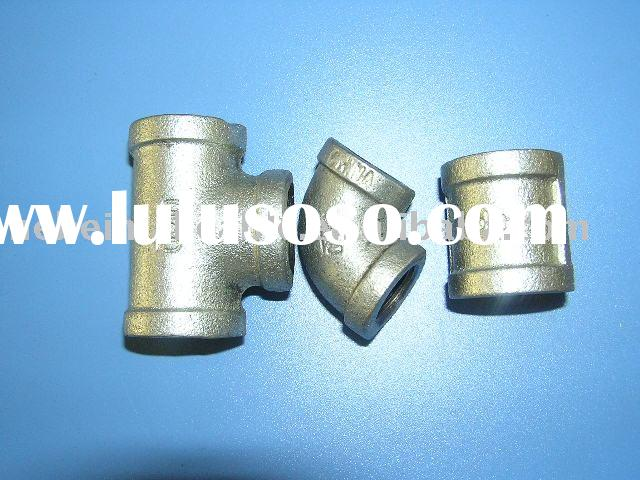 high grade (class 150) hot dip galvanized malleable iron pipe fitting