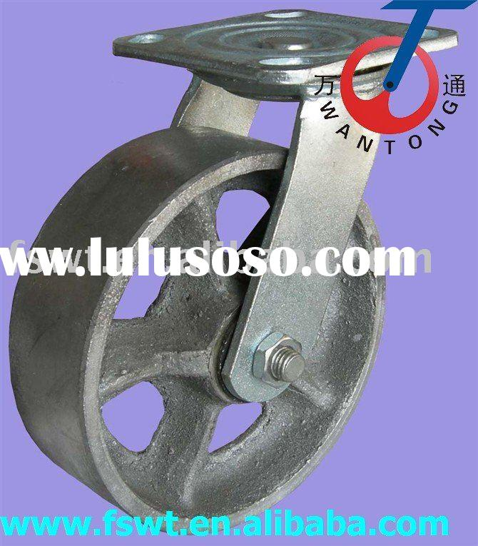 high quality heavy duty all iron swivel caster wheel