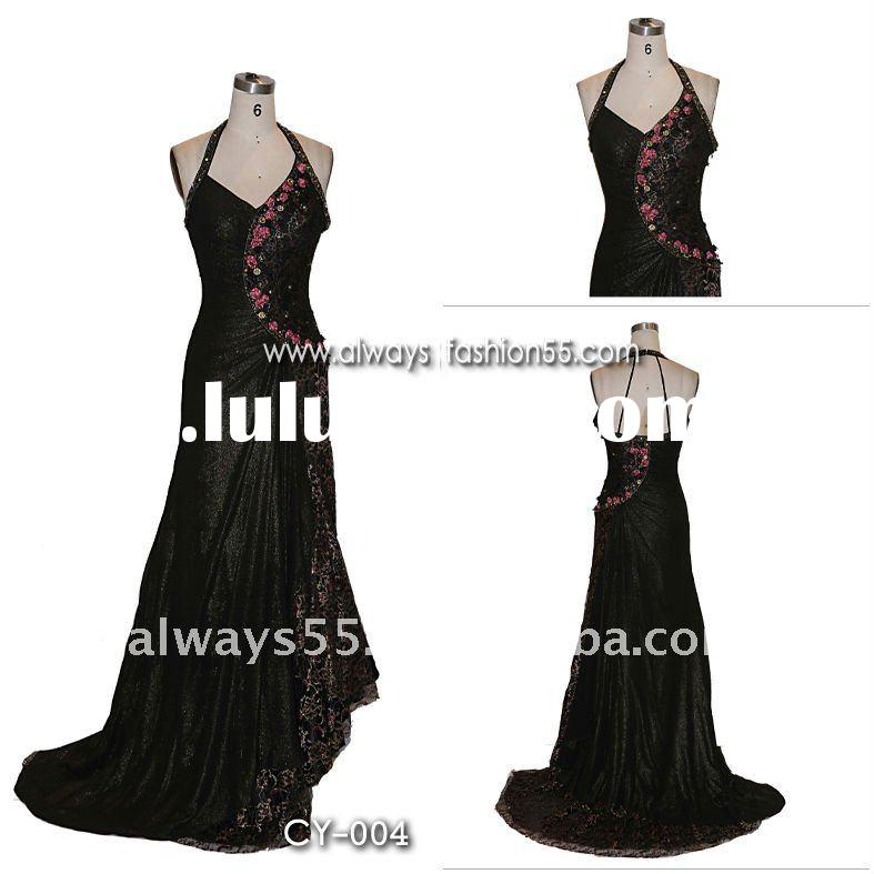 high quality neck patterns for dresses cy004