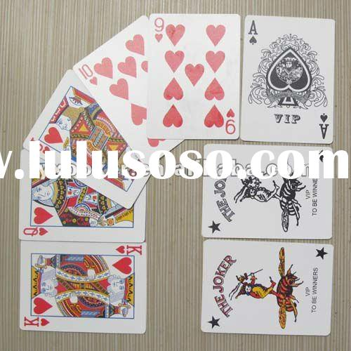 high qulity customized casino playing cards