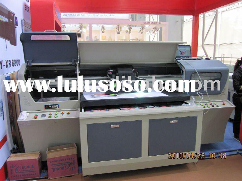 high resolution uv flatbed printer(economic model)