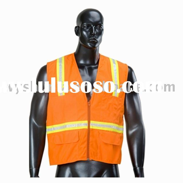 high visibility reflective Mesh road traffic children warning safety vest uniform workwear