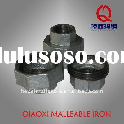 hot-dipped galvanized Malleable Iron pipe fitting (unions)