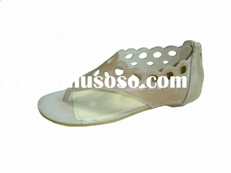 hot new product for 2011 fashion leather sandals for women 2011