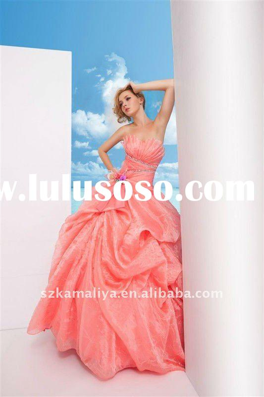 hot sale romantic ball gown couture wedding dresses