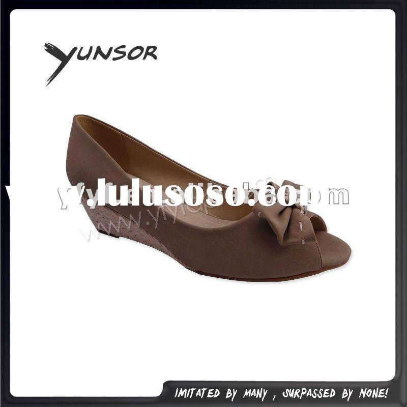 hot selling women's butterfly fashion sandal/dress shoes2012