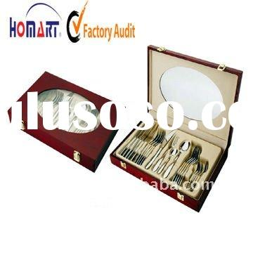 hotel stainless steel spoon knife forks set