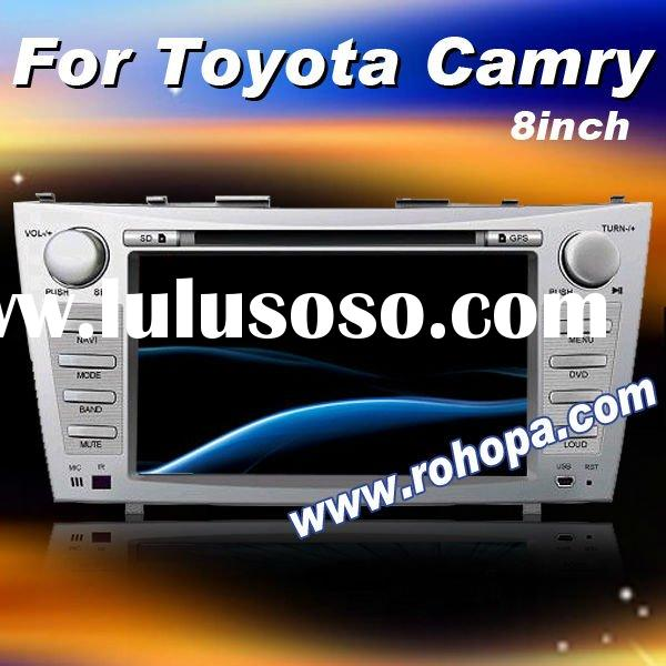 in dash car dvd for Toyota Camry with RDS/ipod/GPS/bluetooth