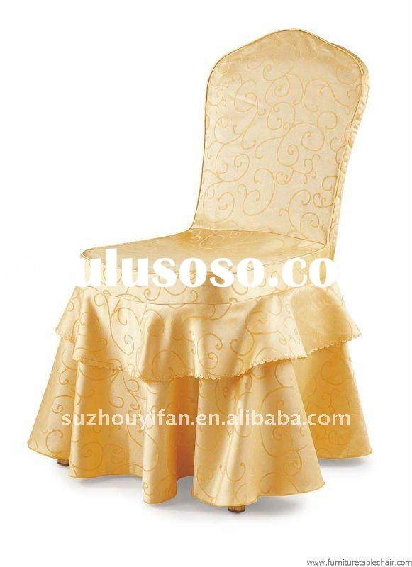 jacquard chair cover for weddings