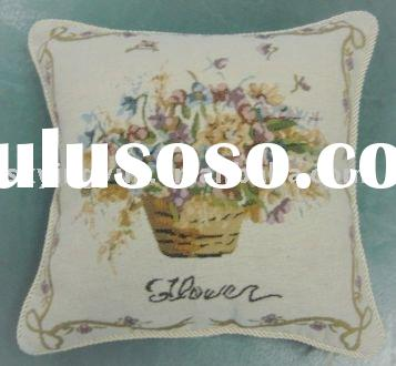 jacquard cushion,cushion cover,flower cushion,throw pillow,sofa cushion ,chair cushion,home textile