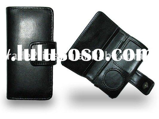 leather case for iPod nano 4G for iPod accessories