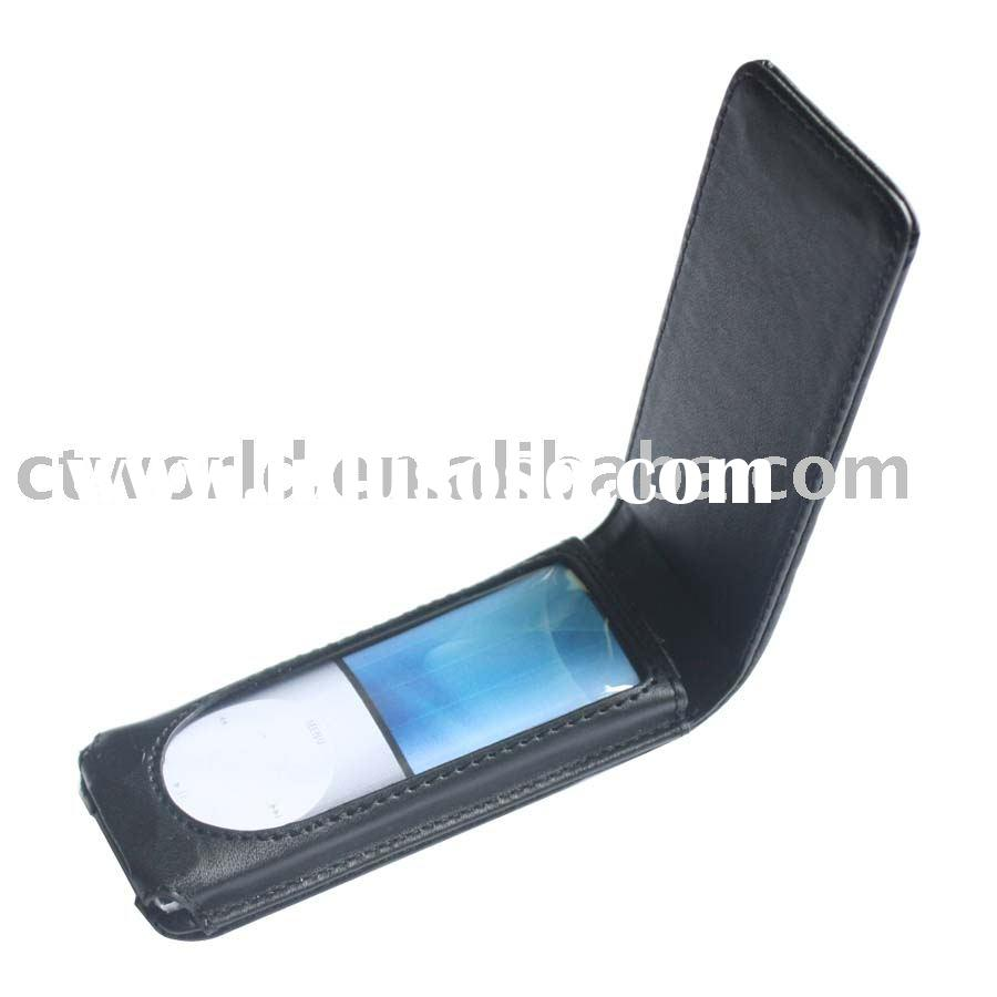 leather skin case for iPod nano 4th generation