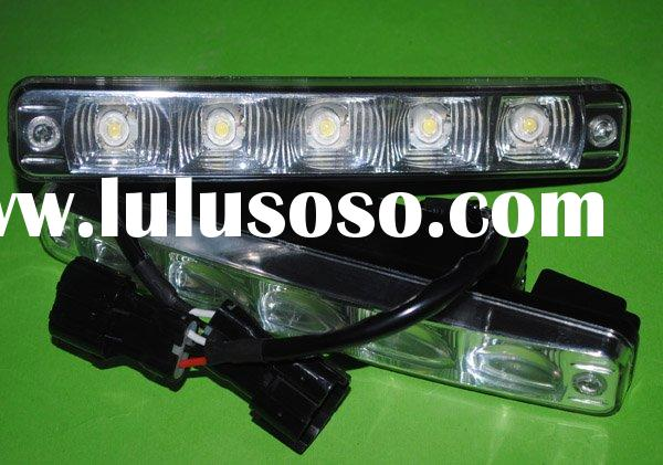 led day running light auto lamp 5W high power LED 12 24VDC DRL car driving light