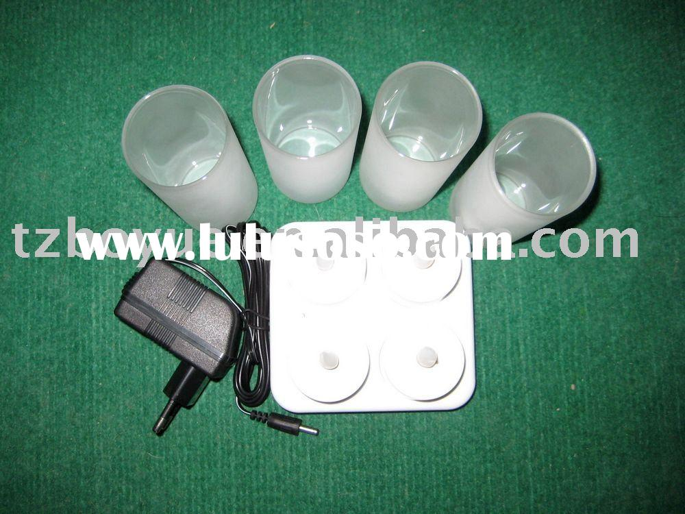 led rechargeable candle/tea light