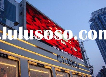 led video display screen,led video billboard,outdoor full color led video display