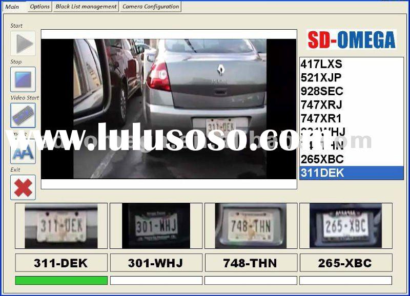 license plate reader car recognition System lpr unit vehicle numberplate identification car license