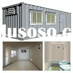 living solution container houses/demountable container