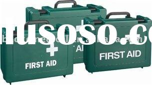 lock empty first aid box for car/ first aid kit(handle plastic box)