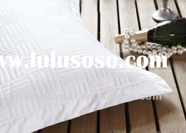 luxury 100% cotton quilted pillow cases