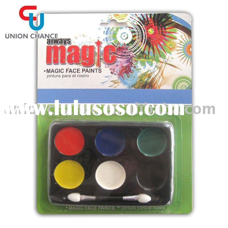 magic world cup football fan face paint set face painting set for football fans