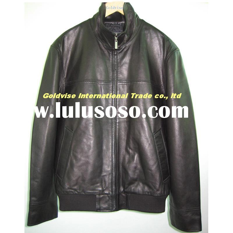 men's fashion leather clothing