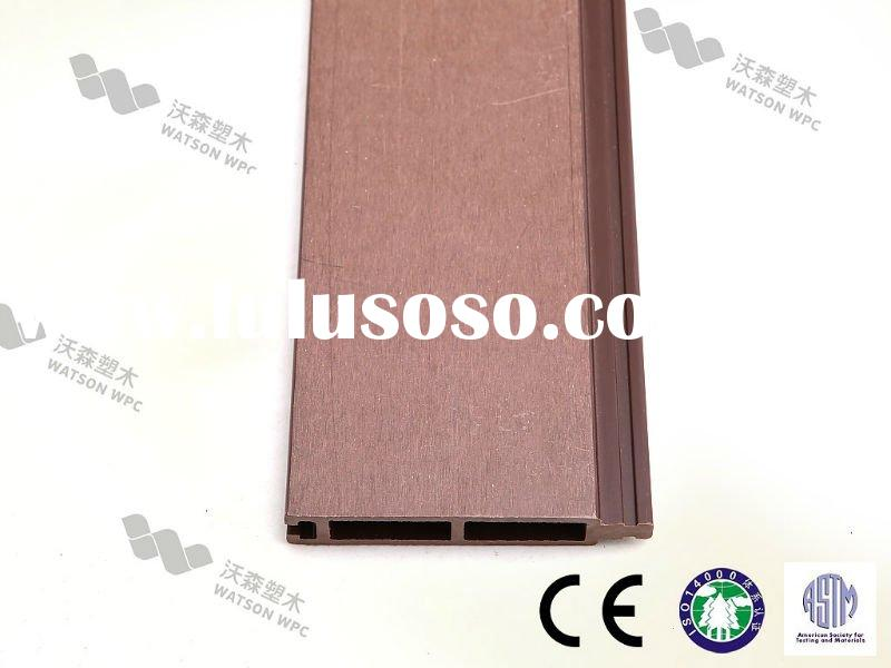 modern decorative environmentally friendly exterior wall panel wpc