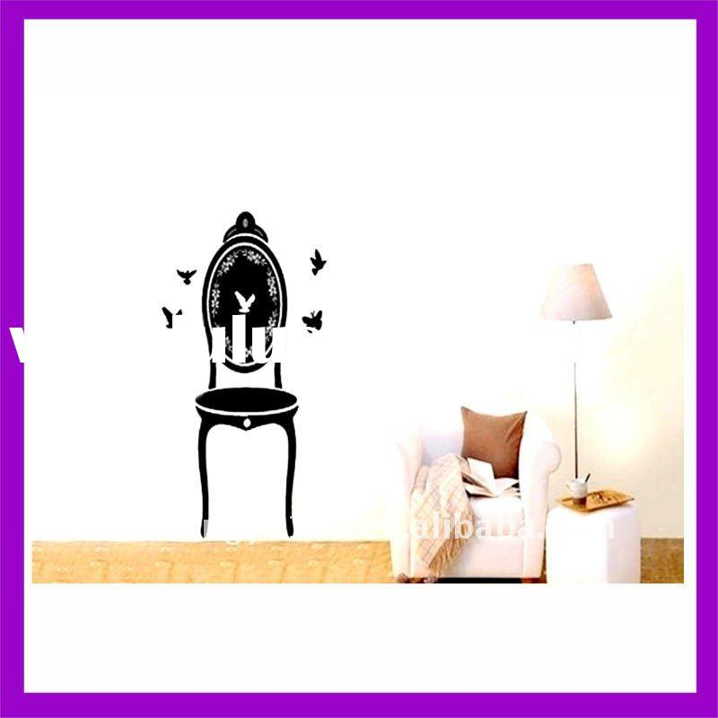 modern vinyl furniture decoration wall sticker for home