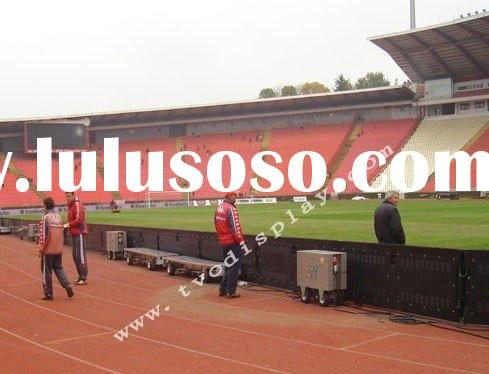 multi color led display electronic led display small soccer advertising led display