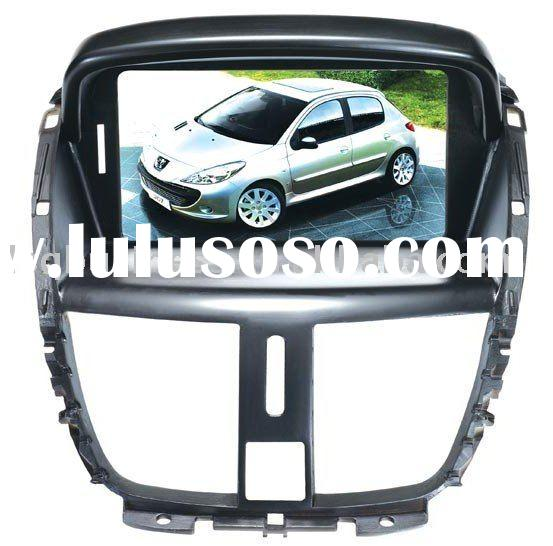 "new peugeot 207 car dvd with audio mode dashboard display, 7"" digital screen,GPS, bluetooth,TV,"