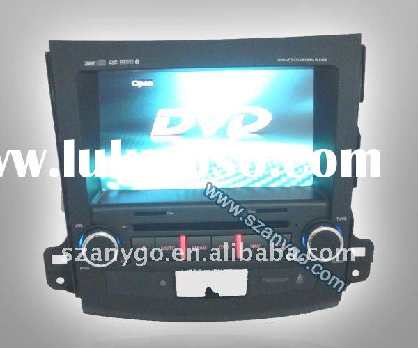 newest car dvd gps 2 din for mitsubishi outlander /2011/2012
