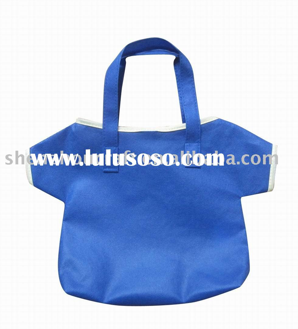 non woven cute gift packaging T-shirt style bag