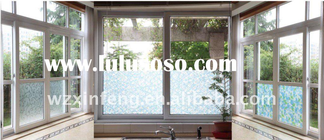 none-adhesive window film,decorative film