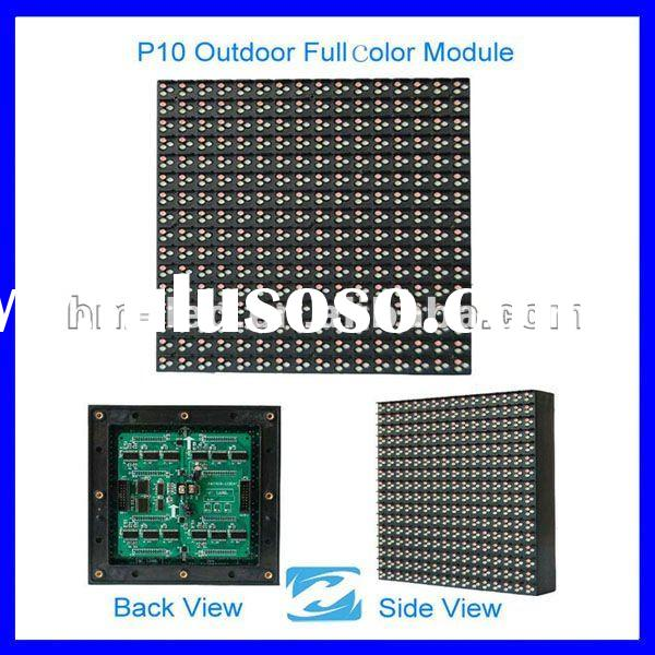 outdoor full color p10 led display screen module