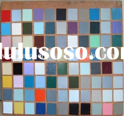 outdoor polyester powder coating