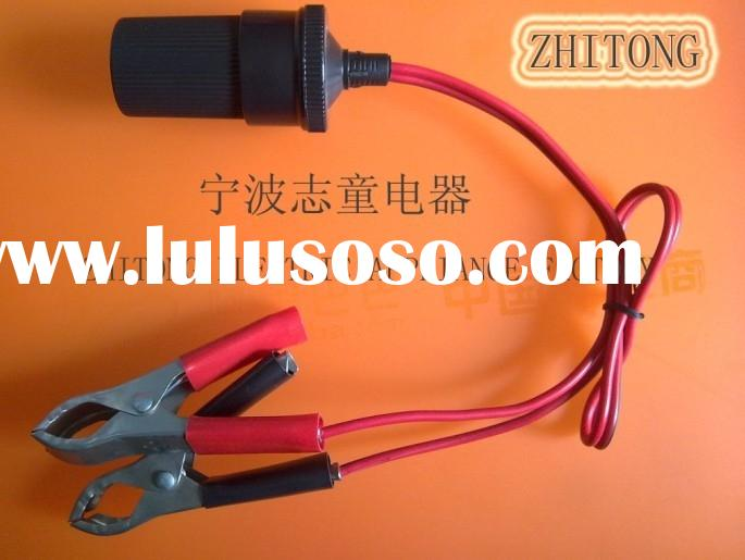 outlet receptacle adapter clip alligator clips battery clips crocodile clips