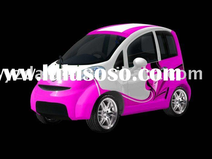 permanent magnetism DC motor DLEV1001 electric car with lithium ion battery,smart and exquisite