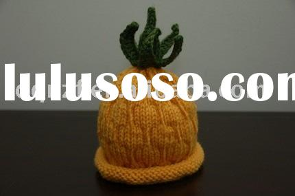 pineapple beanie/baby hat/knitted hat/crochet hat