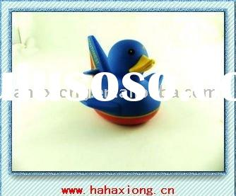 pvc floating duck bath toy for kids rubber duck toys