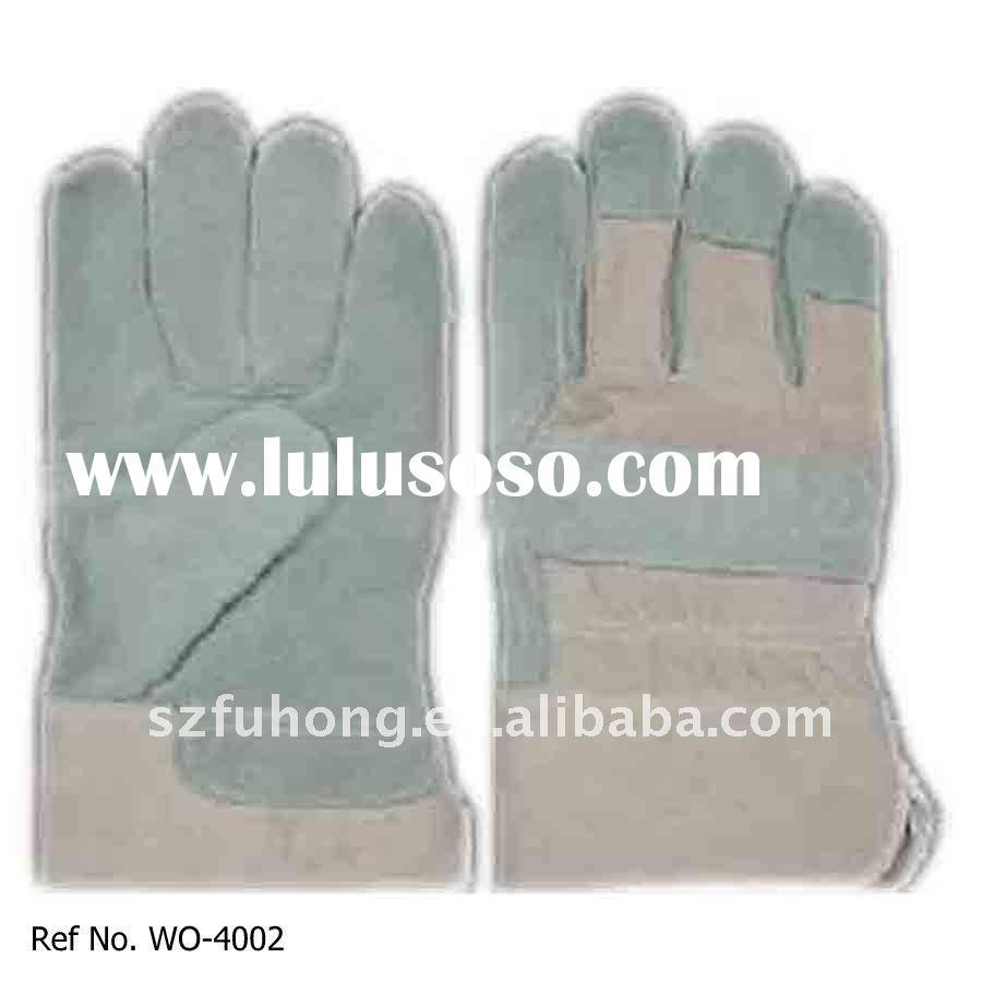 quality cheap pigskin leather garden gloves