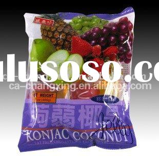 seal by heat flexible vacuum fresh fruit packaging bag