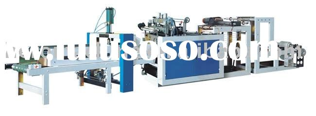 shopping bag machine(bottom sealing bag making machine,plastic shopping bag machine)