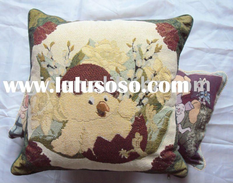 spring Easter egg cushion cover/jacquard cushion/pillow/decorative cushion