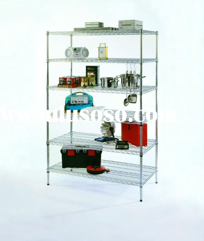stainless steel heavy duty wire shelving