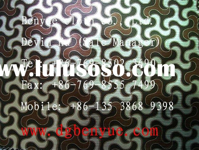 suppliers direct sell environmentally friendly vinyl wallpaper decoration wall covering leather upho