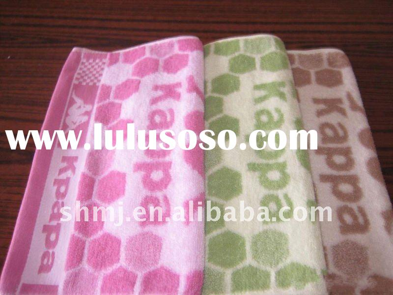 terry towel rapier loom jacquard face towel hand towels