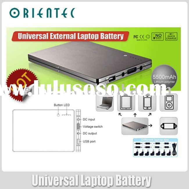 universal external battery pack for laptop