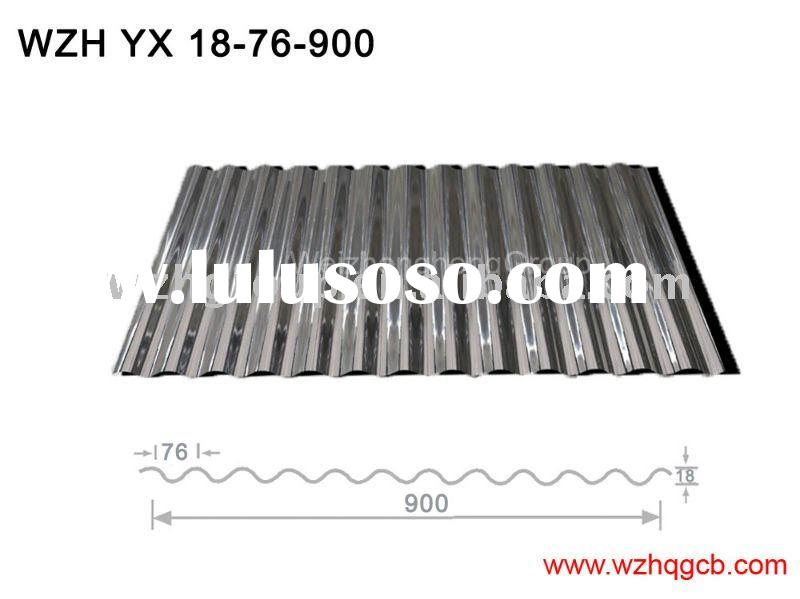 waterproof galvanized roofing steel sheet, corrugated steel roofing, corrugated roofing sheet