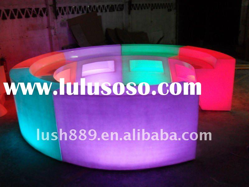 wedding decoration/bar table/led bar furniture,led bar table,led tables,led chair,led cube,led stool