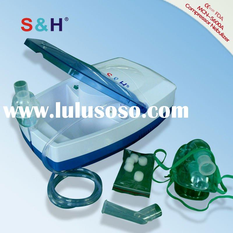 what's the difference between compressor Nebulizer and ultrasonic nebulizer?the partical siz