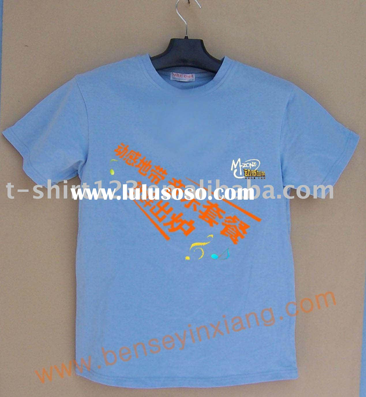 Printed wholesale t shirt printed wholesale t shirt for T shirt printing in bulk